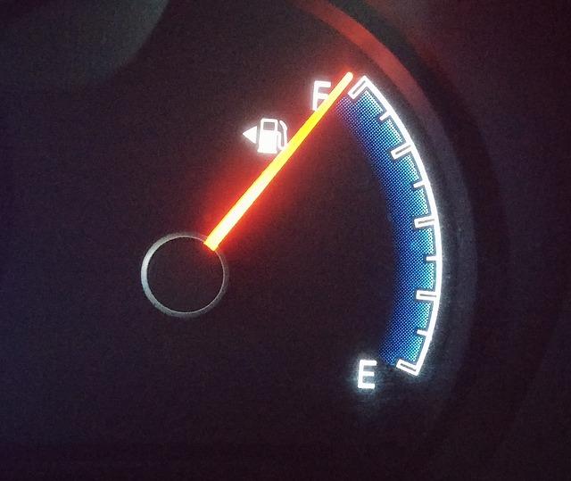 kontrolka paliva